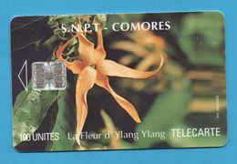 COMOROS - Chip Phonecard - Comoros