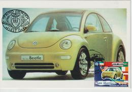 Saint Marin Carte Maximum 1997 Automobile Volkswagen 1546 - Lettres & Documents