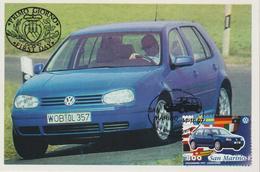 Saint Marin Carte Maximum 1997 Automobile Volkswagen 1547 - Lettres & Documents