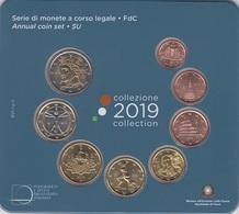 """CARTERA EUROS ITALIA 2019 """"8 VALORES"""" - Italia"""