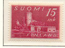 PIA - FINLANDIA - 1945  : Castello Di Slavinlinna -   (Yv   304) - Castelli