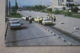UKRAINE .LNR. Lugansk. BUS STATION -    - 1970s - Taxi Car Parking - Taxi & Carrozzelle