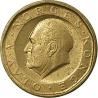 Monnaie, Norvège, Olav V, 10 Kroner, 1987, TTB, Nickel-brass, KM:427 - Norvège