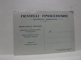 GIARDINI    -- MESSINA  -- FRATELLI FINOCCHIARO - Messina