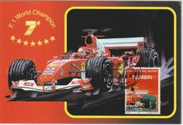 Saint Marin Carte Maximum 2005 Voiture Ferrari 1981 - Lettres & Documents