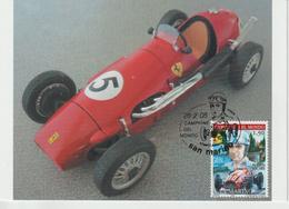 Saint Marin Carte Maximum 2005 Pilotes Ferrari A Ascari 1982 - Lettres & Documents