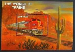 Grenada 1999** Mi.bl.518 Trains ,MNH [4;42,67/6;42,36,22] - Eisenbahnen