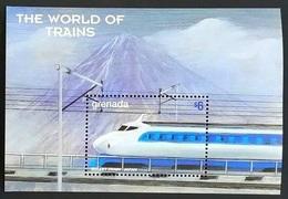 Grenada 1999**Mi.Bl.519. Trains ,MNH [4;42,67/6;42,36,22] - Eisenbahnen