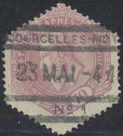 """Télégraphe - N°TG11 Obl Chemin De Fer """"Courcelles-Mot N°1"""" - Telegraphenmarken"""