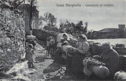 Italia  -  SANTA MARGHERITA, Lavoratrici Al Tombolo - Genova