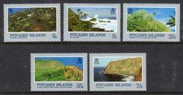 PITCAIRN ISLANDS - 1983 LANDSCAPES SET (5V) FINE MNH ** SG 211-215 - Stamps