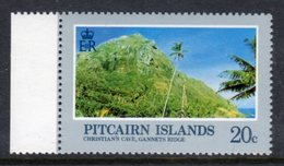 PITCAIRN ISLANDS - 1983 LANDSCAPES 20c WMK CLEAR CROWN TO RIGHT OF CA FINE MNH ** SG 213w - Stamps
