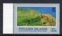 PITCAIRN ISLANDS - 1983 LANDSCAPES 35c WMK CLEAR CROWN TO RIGHT OF CA FINE MNH ** SG 214w - Stamps