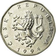 Monnaie, République Tchèque, 2 Koruny, 1994, TTB, Nickel Plated Steel, KM:9 - Tchéquie
