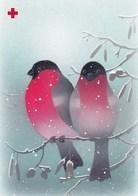 Postal Stationery - Birds - Bullfinches In Winter - Red Cross 1994 - Suomi Finland - Postage Paid - Jaana Aalto - Finlandia