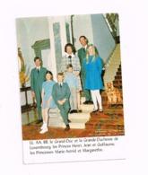 LL AA RR Le Grand-Duc Et La Grande Duchesse De Luxembourg,les Princes Henri,Jean Et Guillaume,les Princesses Marie-Astri - Famille Grand-Ducale