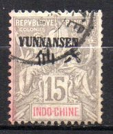 Col 14 /  Yunnanfou  N° 6 Oblitéré  Cote  9,00 € - Oblitérés