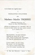 Oudenaarde, Marleen Thorree, Peirtsegaele - Images Religieuses
