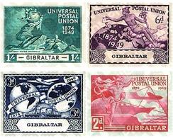Ref. 83348 * MNH * - GIBRALTAR. 1949. 75th ANNIVERSARY OF UPU . 75 ANIVERSARIO DE LA UPU - Gibraltar