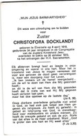 Zuster, Soeur, Christofora Bocklandt, Elversele, Eeklo - Religion &  Esoterik