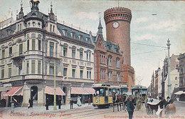 Cottbus - Spremberger Turm Mit Tram - 1907      (190507) - Cottbus