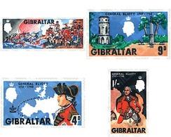 Ref. 83364 * MNH * - GIBRALTAR. 1967. 250th ANNIVERSARY OF THE BIRTH OF GENERAL GEORGE-AUGUSTUS ELIOTT . 250 ANIVERSARIO - Gibraltar