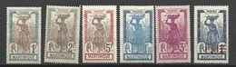 Martinique Poste   N° 75 à 77 ; 115  ; 127 Et 128    Neufs * *  Et Neufs  * B/ TB ..... Soldé à  Moins De 20 %  ! ! ! - Martinique (1886-1947)