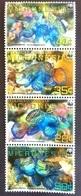 # Micronesia 2009** Mi.2052-55 Fish, MNH WWF [26;85] - W.W.F.