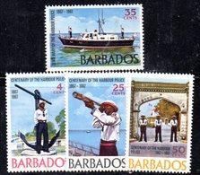 CI788bis - BARBADOS 1967, Serie Yvert N. 270/273  ***  MNH   (2380A) . - Barbados (1966-...)