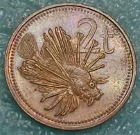 Papua New Guinea 2 Toea, 1984 -4553 - Papúa Nueva Guinea