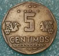 Peru 5 Céntimos, 1992 -4554 - Peru