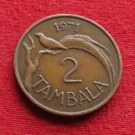 Malawi 2 Tambala 1971 KM# 8.1 - Malawi