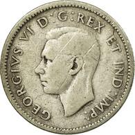 Monnaie, Canada, George VI, 10 Cents, 1941, Royal Canadian Mint, Ottawa, TB - Canada