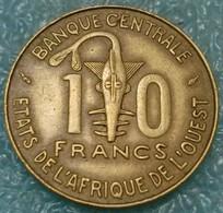 Western Africa (BCEAO) 10 Francs, 1985 -4555 - Coins