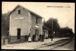 51 - CERNAY EN DORMOIS - La Gare - Otros Municipios