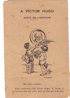 FONDATION  VICTOR  HUGO  CREEE   EN VUE D'ASSURER LE FONCTIONNEMENT DU COURS VICTOR HUGO,  A LA  SORBONN _E - Livres, BD, Revues