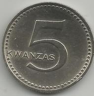 Angola AG0021975 5 Kwanzas 1975 - Angola