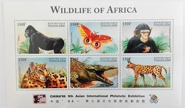 Togo 1996**Mi.2403-08 Wildlife Of Africa , MNH [3;28] - Briefmarken