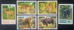 # Bangladesh 1977**Mi.94-99 Animals , MNH [21;5] - Andere