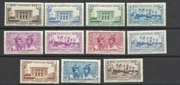 Martinique Poste N°175  à 185    Neufs * *  Et Neufs  *   B/ TB               Soldé à  Moins De 20 %  ! ! ! - Martinica (1886-1947)
