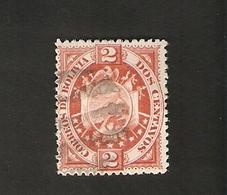 Bo4-1-2. America BOLIVIA 2 Dos Centavos 1894 Coat Of Arms Bolivien - Bolivia