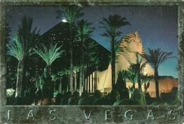 Las Vegas (Nevada, USA) Luxor Hotel By Night, La Nuit, Notturno - Las Vegas