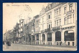 Middelkerke. La Digue. Feldpost Der 2. Marine Division.  Korps Fernsprech Abteilung 34. Décembre 1915 - Middelkerke