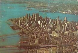 New York City (New York, USA) Lower Manhattan Skyline From The Air, Vue Aerienne, Veduta Aerea - Manhattan