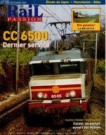 Revue RAIL PASSION N°98/99, CC 6500, Calais, Mannheim-Bâle, Etendar Aquitaine Jules-Verne, Hambourg, Veynes-Briançon - Spoorwegen En Trams