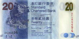 Hong Kong (SCB) 20 HK$ (P297) 2014 -UNC - - Hong Kong