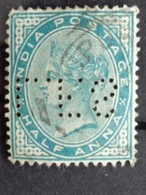 HALF ANNA PERFORE L. F. S - VICTORIA - Indien