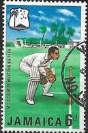 JAMAICA 1968 M.C.C.'s West Indies Tour - 6d Wicket Keeper FU - Jamaica (1962-...)