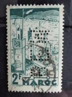 MAROC 2 Frs PERFORE B.E.M. - Maroc (1956-...)