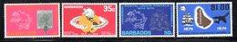 CI851 - BARBADOS 1968, Serie Yvert N. 286/288 ***  MNH   (2380A) .  Upu - Barbados (1966-...)